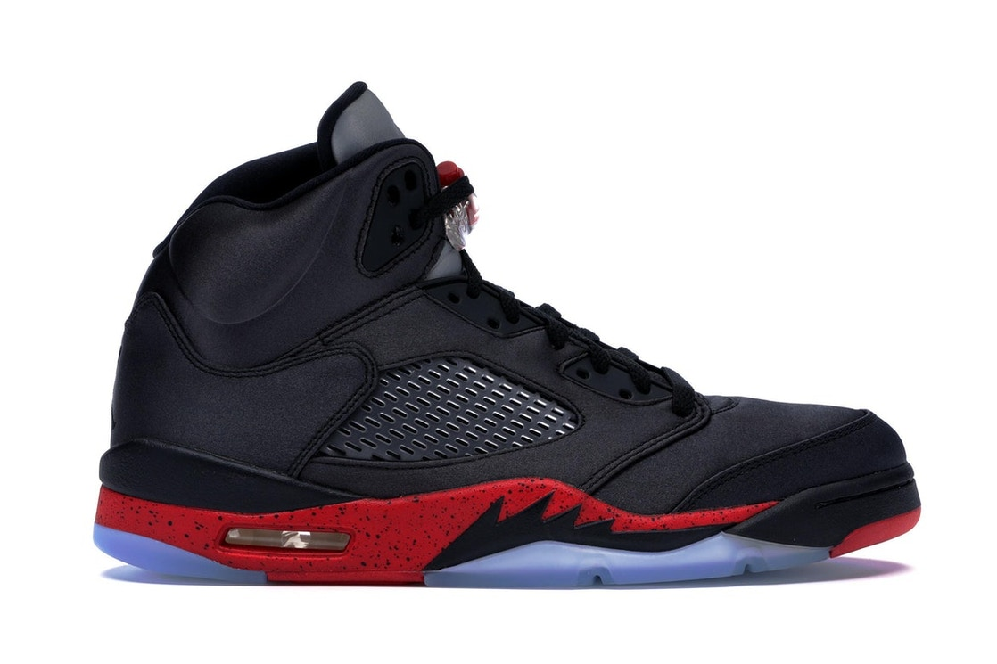 reputable site bc251 0041a Jordan 5 Retro Satin Bred - 136027-006