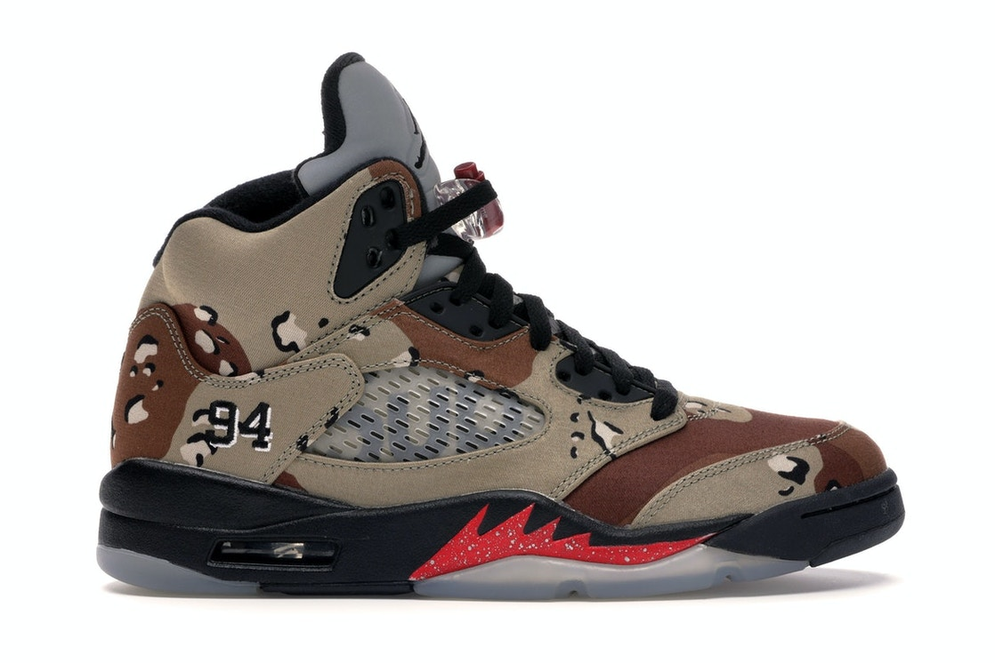 best sneakers 4f7b8 97d12 Sell. or Ask. Size  16. View All Bids. Jordan 5 Retro Supreme Desert Camo