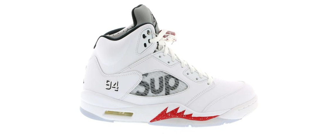 f2a9f2158ab2 Sell. or Ask. Size  8.5. View All Bids. Jordan 5 Retro Supreme White