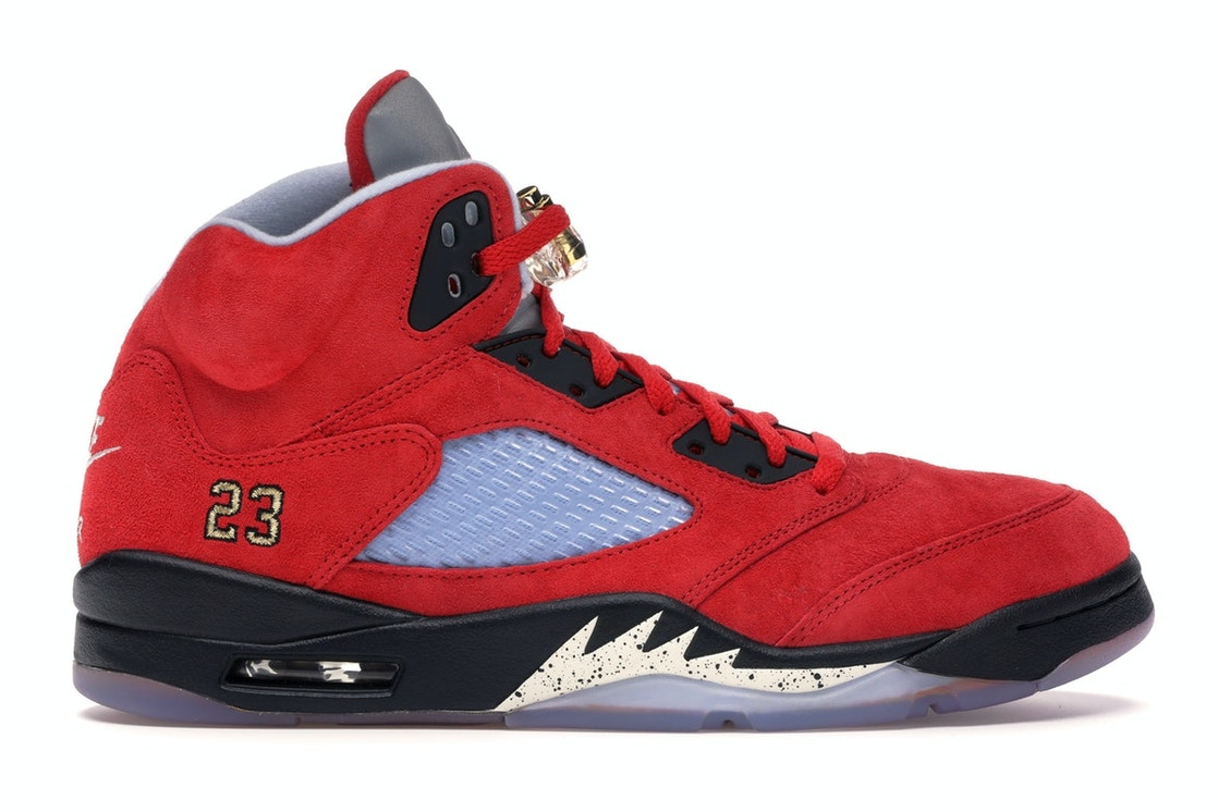 finest selection 1939c 8b3d7 Jordan 5 Retro Trophy Room University Red (F&F)