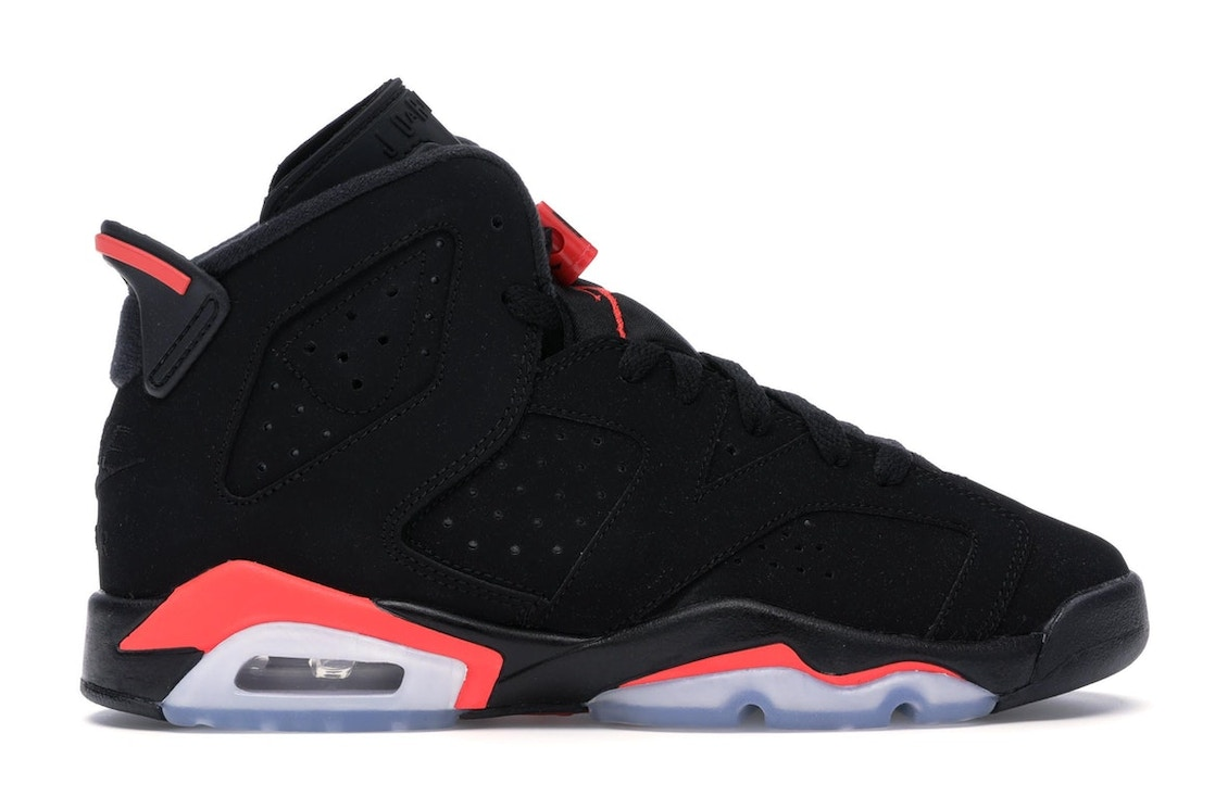 promo code ebb60 df472 Jordan 6 Retro Black Infrared 2019 (GS)