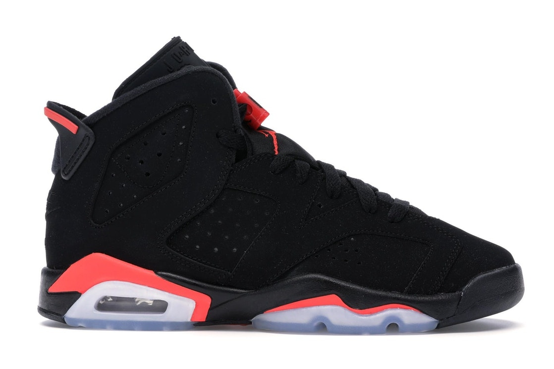 promo code 6681e 22494 Jordan 6 Retro Black Infrared 2019 (GS)