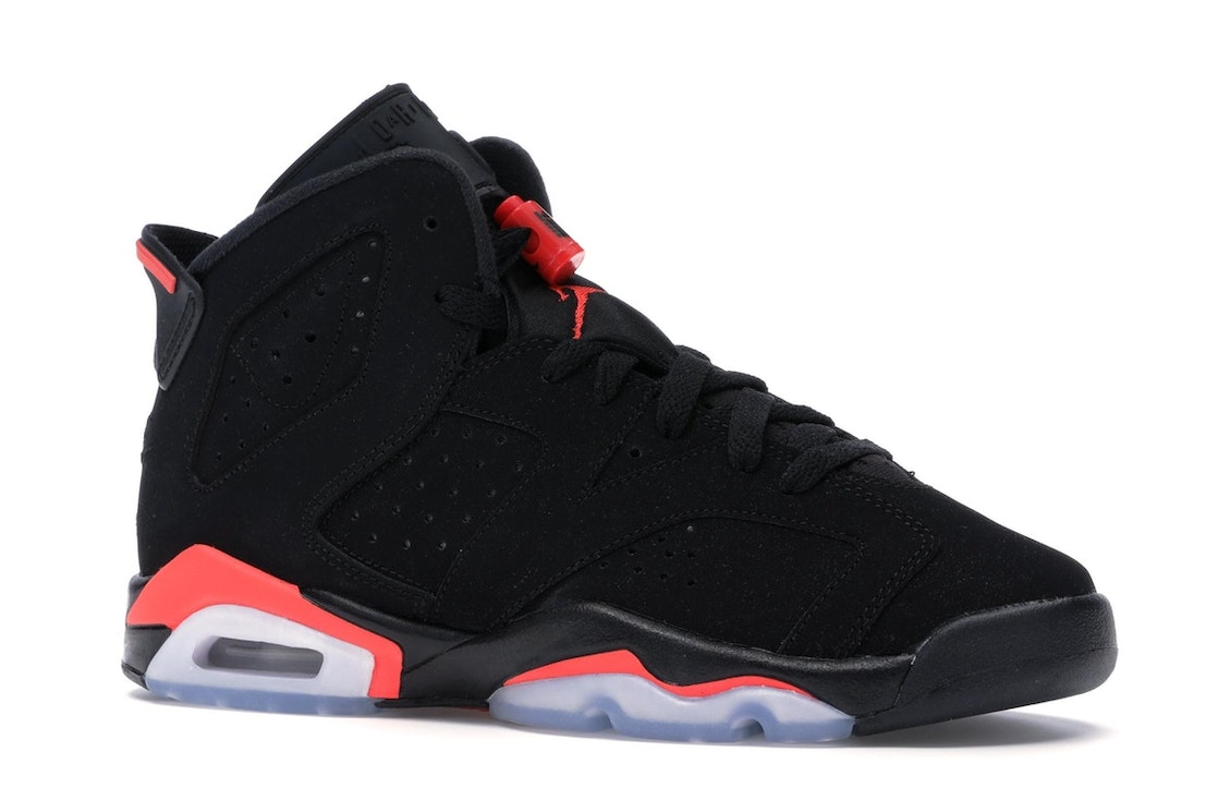 new arrival 05453 4c2be Jordan 6 Retro Black Infrared 2019 (GS) - 384665-060