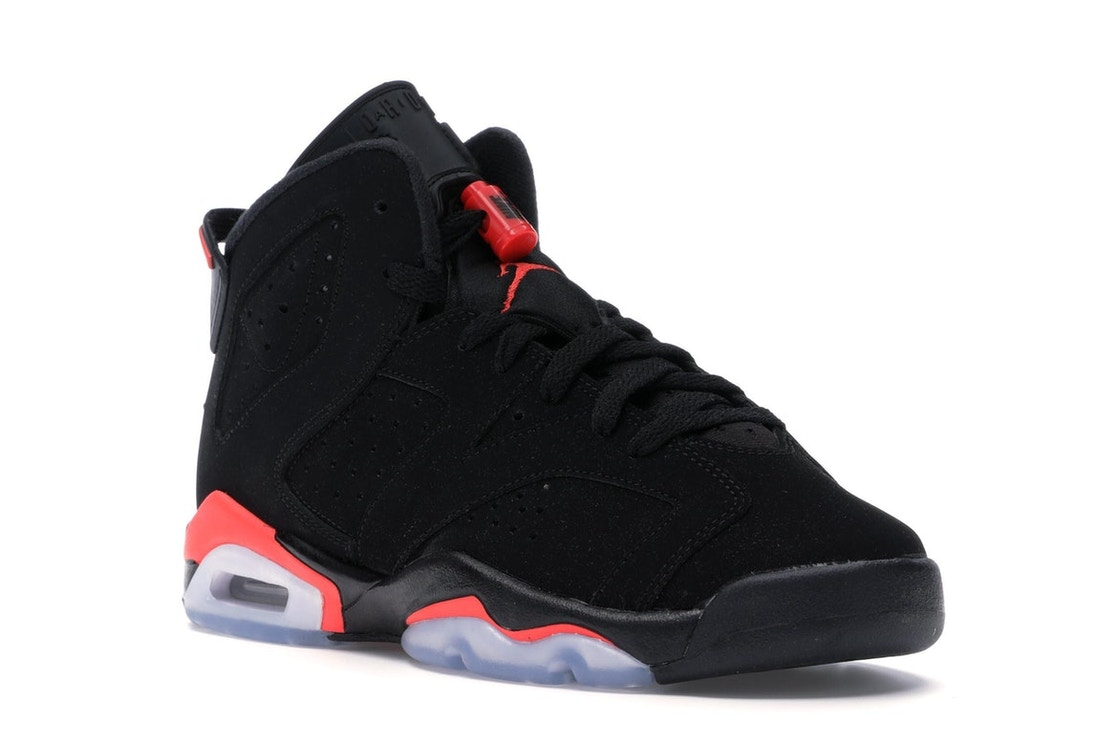 Jordan 6 Retro Black Infrared 2019 (GS) - 384665-060 42e074534665