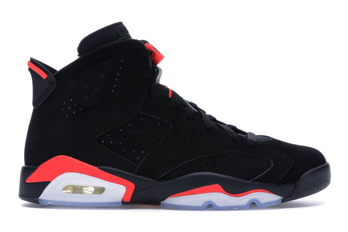 sports shoes f594a 16e42 Jordan 6 Retro Black Infrared (2019) - 384664-060