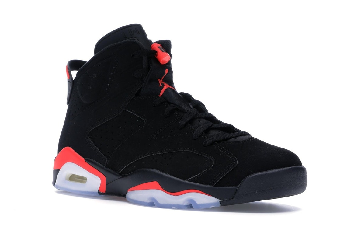 sports shoes 49e47 e1117 Jordan 6 Retro Black Infrared (2019) - 384664-060