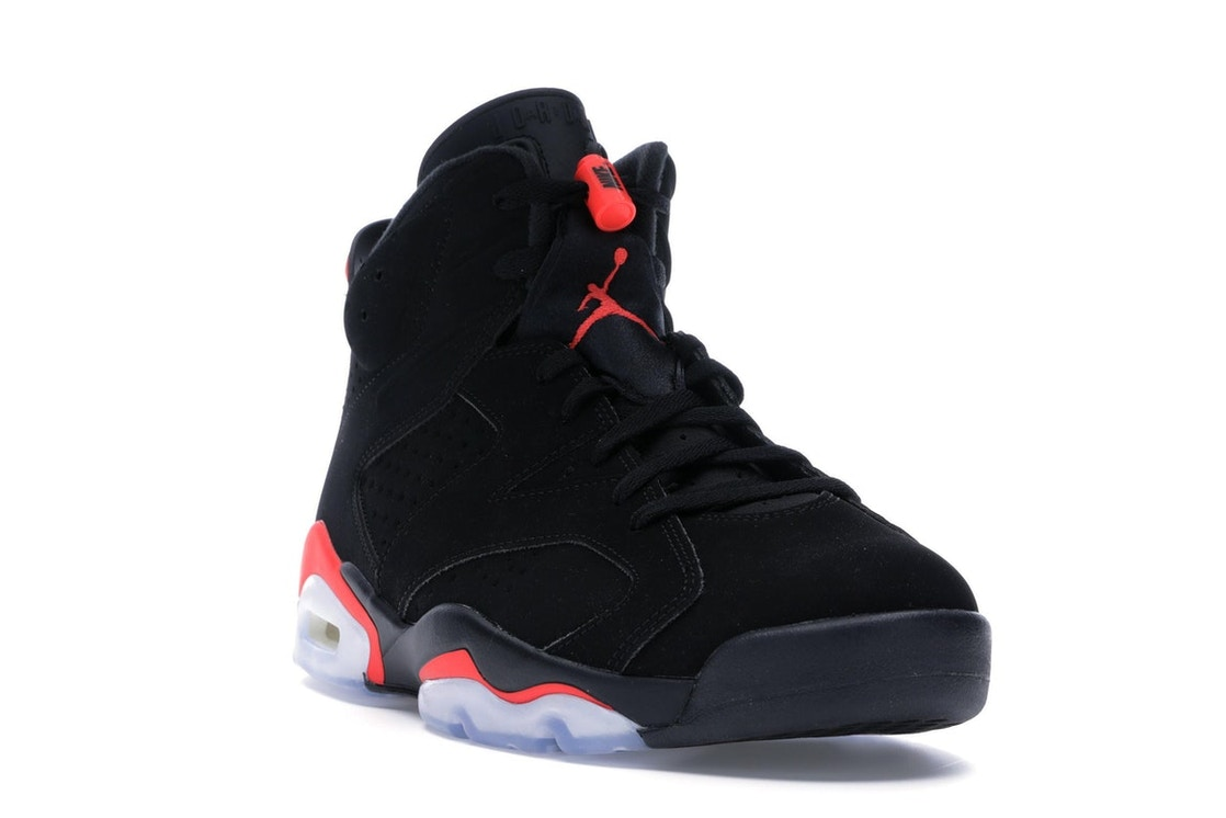 7cd63446194b Jordan 6 Retro Black Infrared (2019) - 384664-060