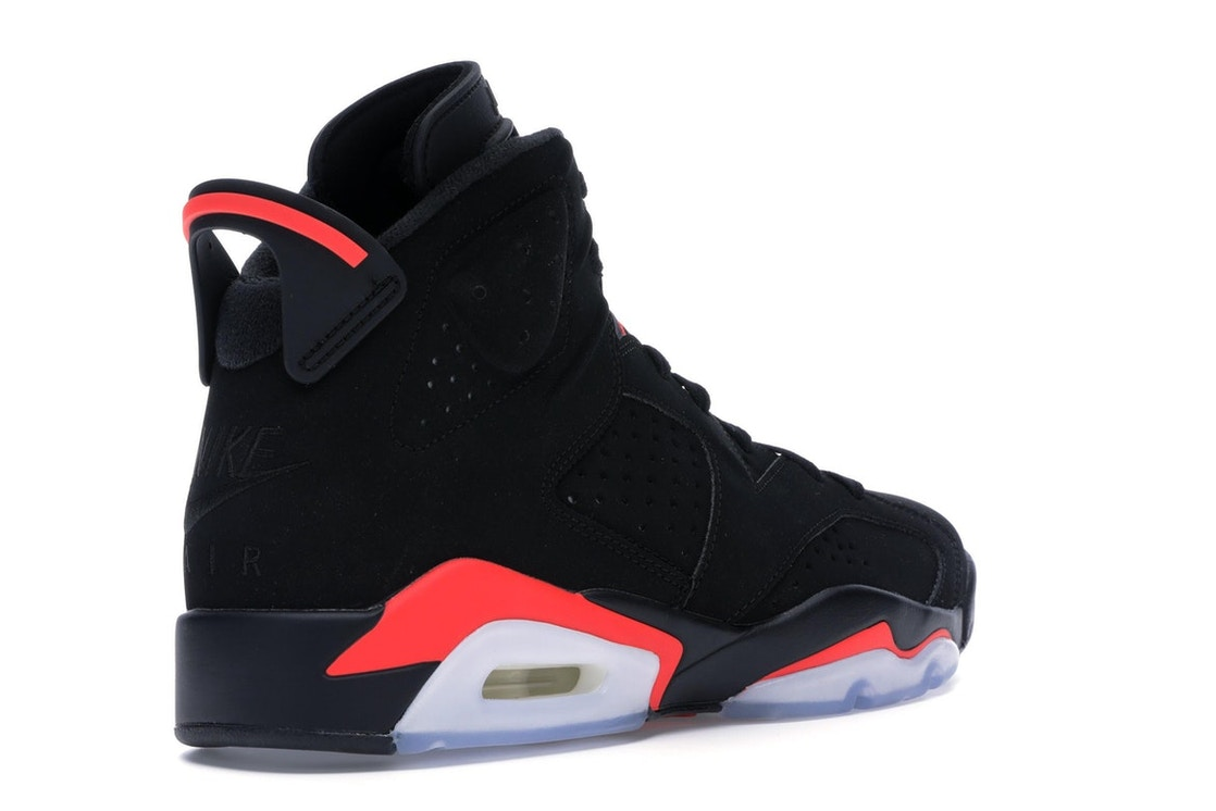 sports shoes db963 3a5cc Jordan 6 Retro Black Infrared (2019) - 384664-060