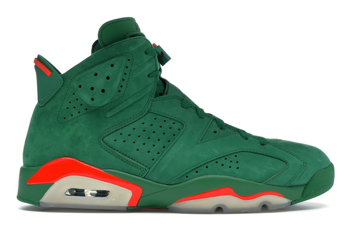 info for ef7d9 1032e Jordan 6 Retro Gatorade Green - AJ5986-335