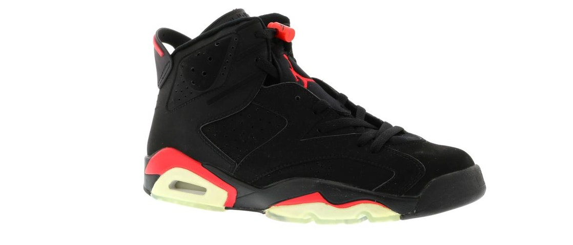 966602c65ada3c Jordan 6 Retro Infrared Black (2000) - 136038-061
