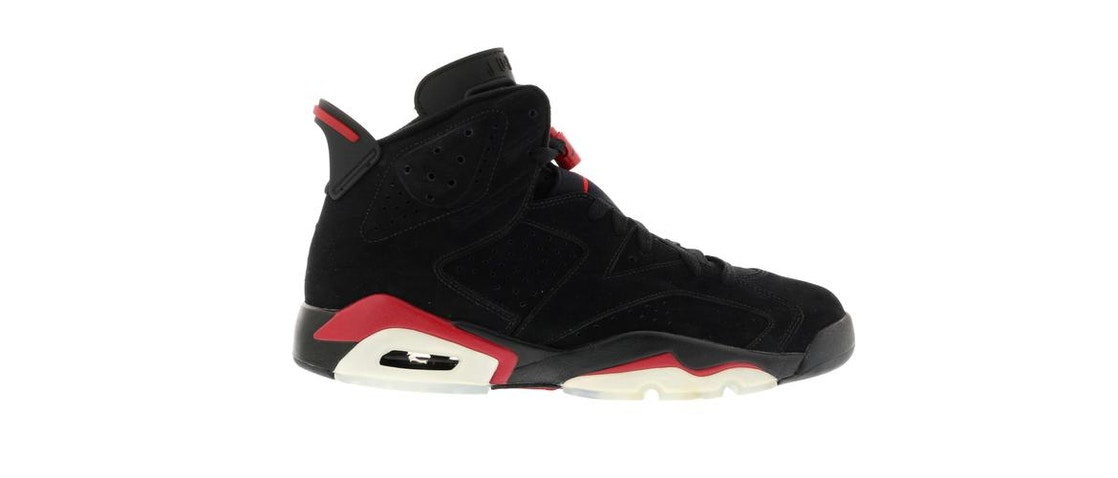 bf77b143905 Sell. or Ask. Size: 13.5. View All Bids. Jordan 6 Retro Black Varsity Red  ...