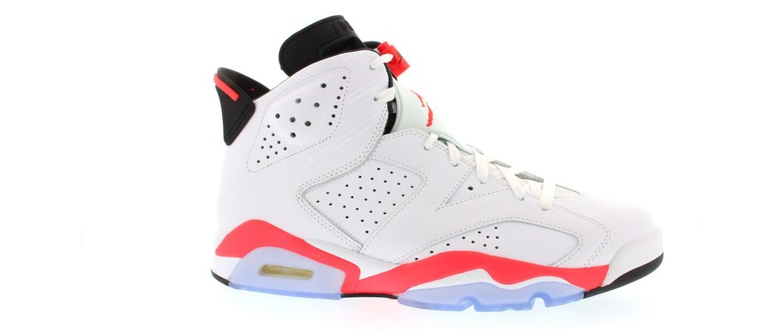 best authentic 14a1e e7349 Jordan 6 Retro Infrared White (2014) - 384664-123