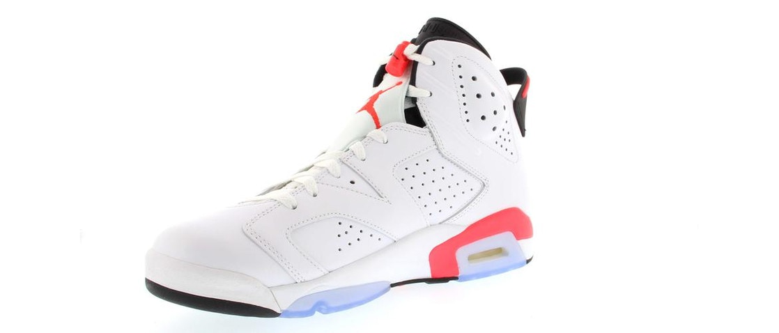 new concept 57903 bf4ff Jordan 6 Retro Infrared White (2014)