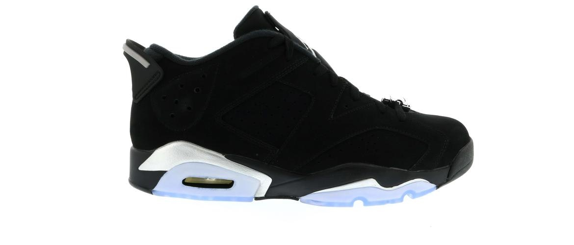 Jordan 6 Retro Low Chrome 2015
