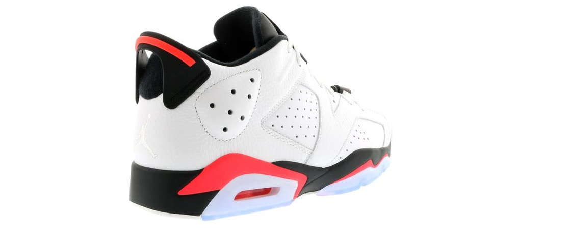 Jordan 6 Retro Low Infrared White - 304401-123 42894db0ac93