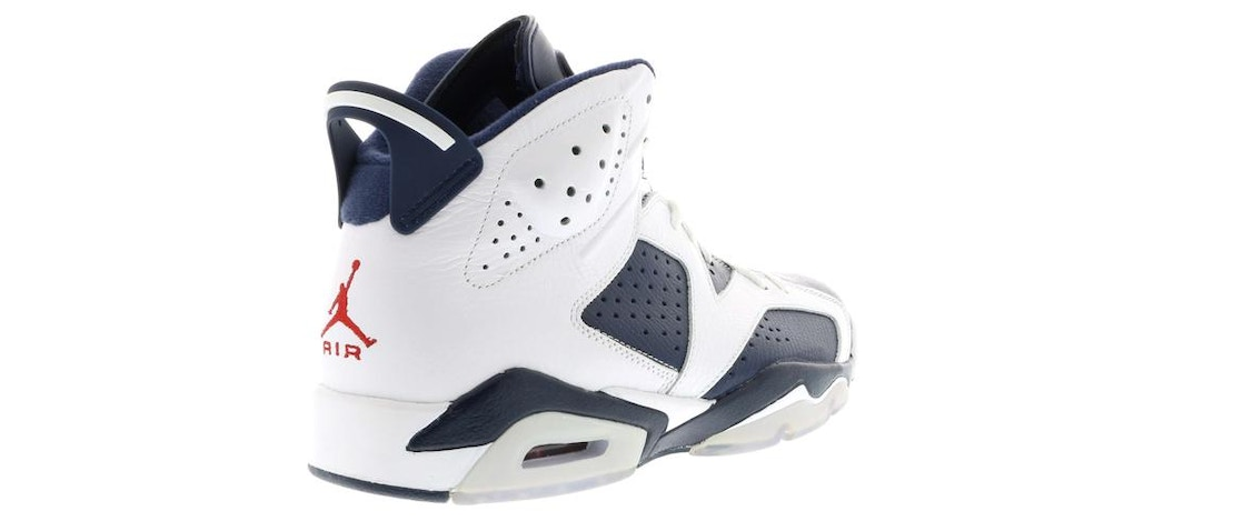 best sneakers 99672 9027f Jordan 6 Retro Olympic London (2012) - 384664-130