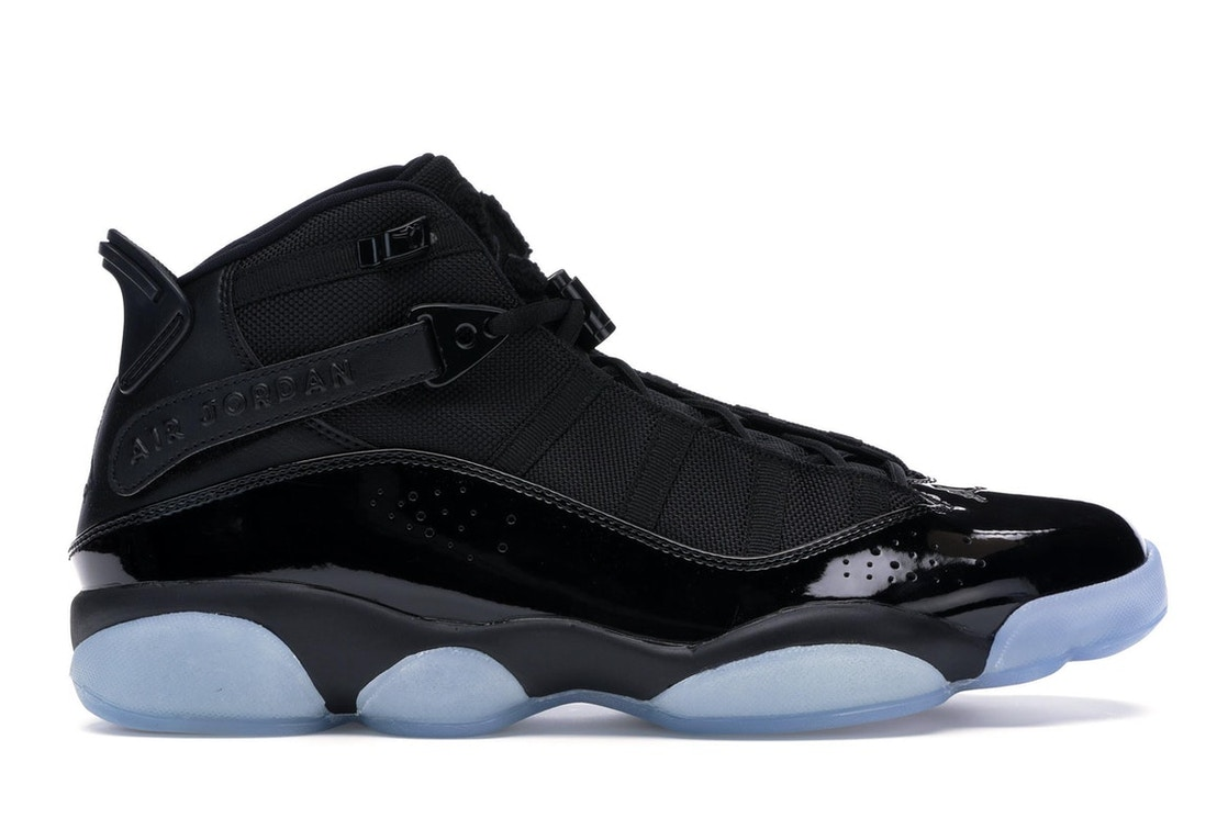 separation shoes 05a93 f23a4 Jordan 6 Rings Black Ice