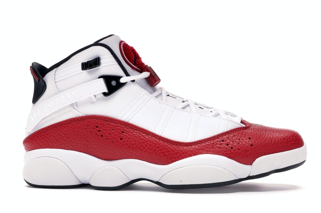 new arrival 41a48 8a05a Jordan 6 Rings White University Red