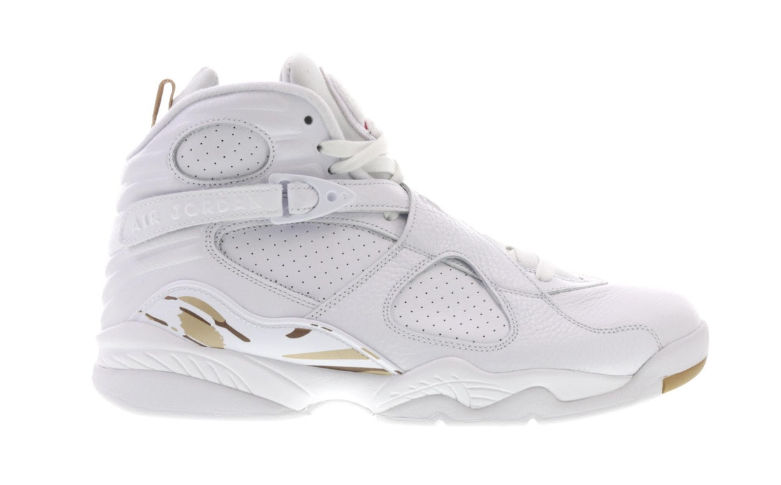 more photos b13e9 98511 Jordan 8 Retro OVO White