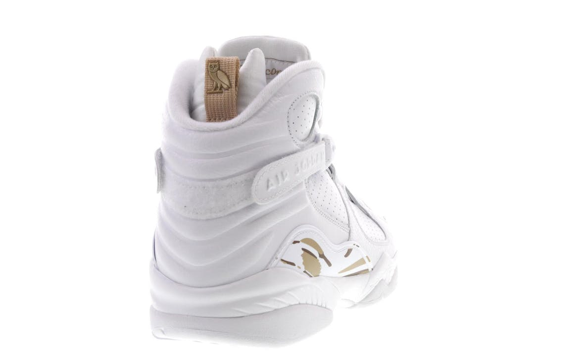 Jordan 8 Retro OVO White