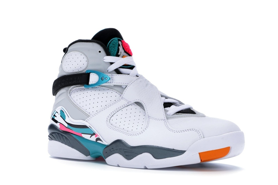 quality design f9d81 e4969 Jordan 8 Retro South Beach - 305381-113