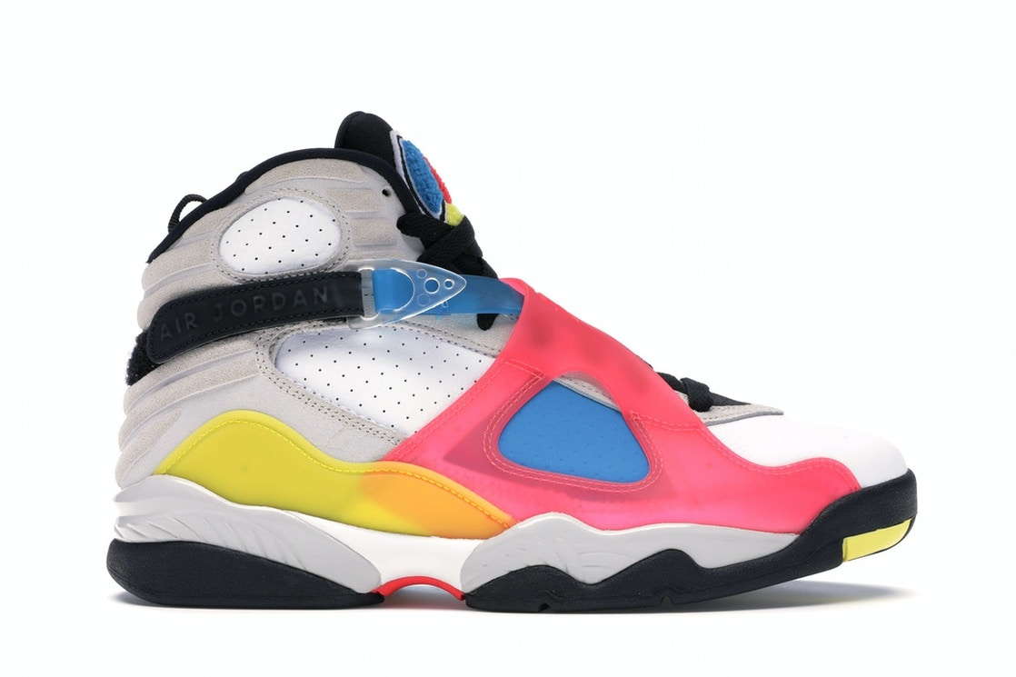 Jordan 8 Sp Retro Se White Multicolor by Stock X