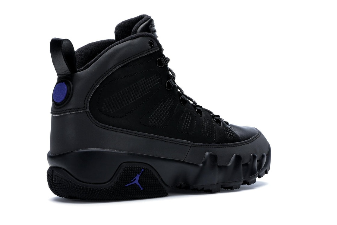 best website 3eb0c a9319 Jordan 9 Retro Boot Black Concord - AR4491-001
