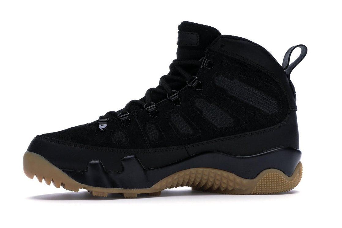 8d045814484f Jordan 9 Retro Boot Black Gum - AR4491-025