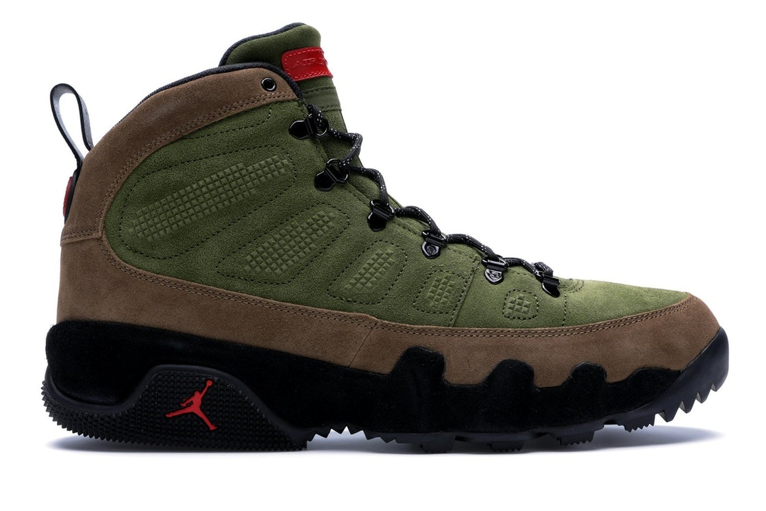 5e94f00a094 Sell. or Ask. Size: 12. View All Bids. Jordan 9 Retro Boot Military Brown