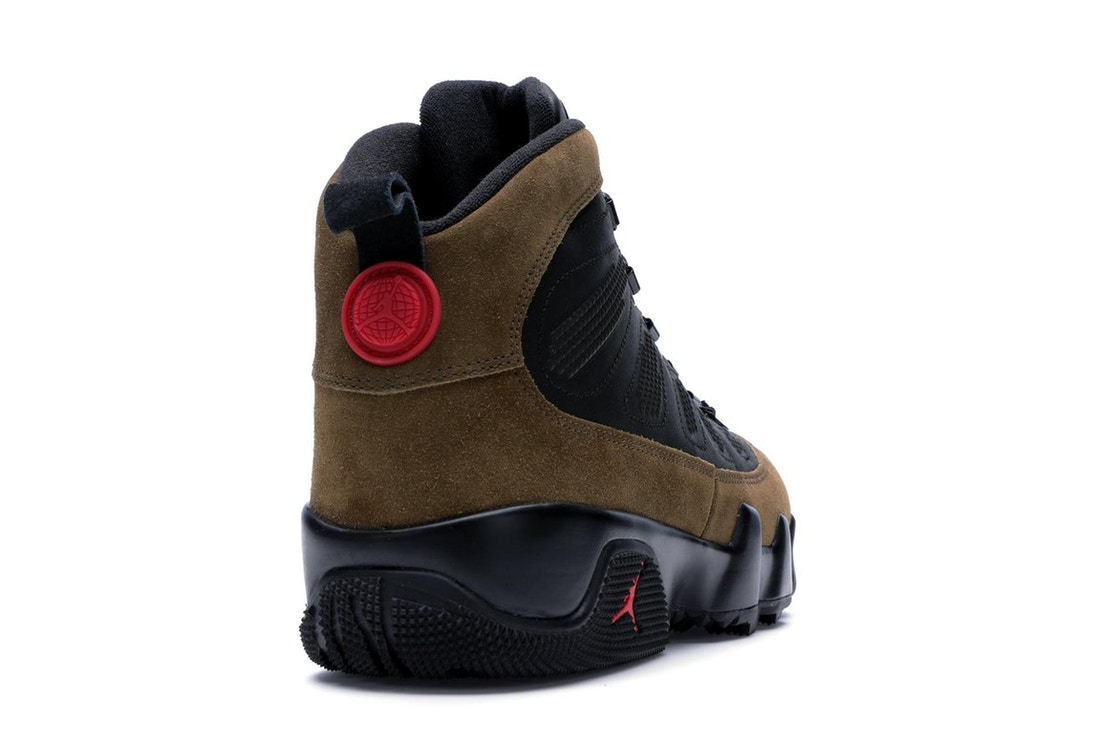 the latest 15e0b 3e792 Jordan 9 Retro Boot NRG Olive - AR4491-012