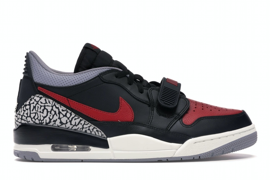 sold worldwide high quality great look Jordan Legacy 312 Low Bred Cement