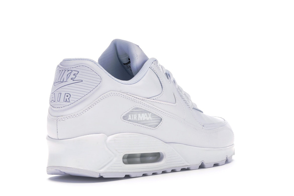 air max 90 leather uomo bianche
