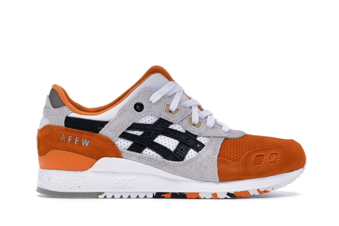 Asics Lyte Orange Wde9iye2h Afew Beams X Gel Koi Iii txdsBhQrC