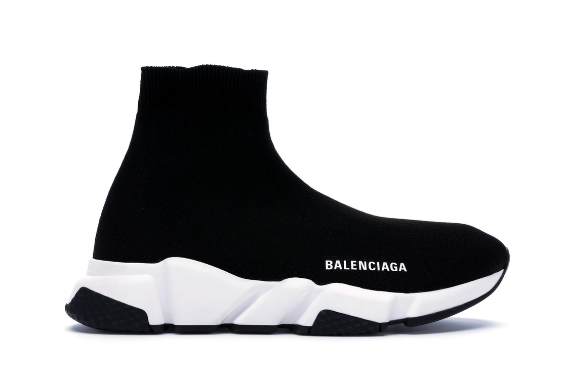 6d2dc22ba63a Balenciaga Speed Trainer Black White (2018) - 530349 W05G9 1000