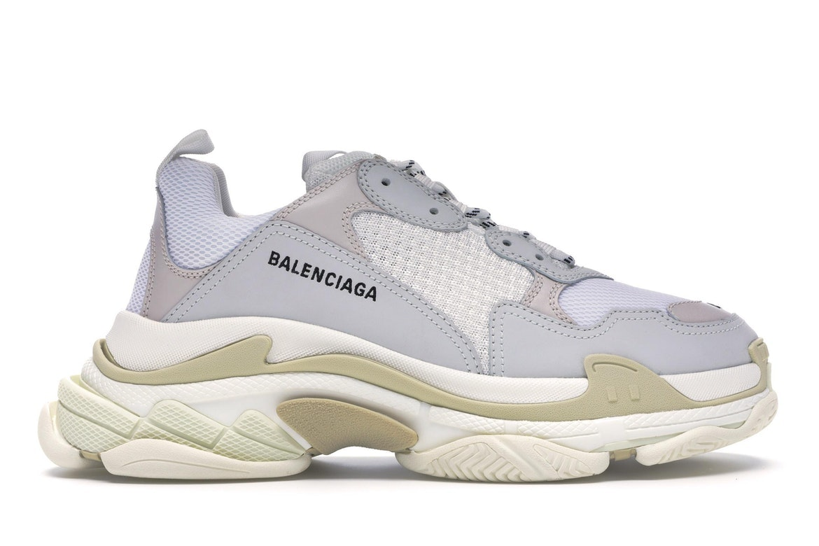 Balenciaga Triple S v1 Grey on Carousell Snap to Sell Chat to Buy