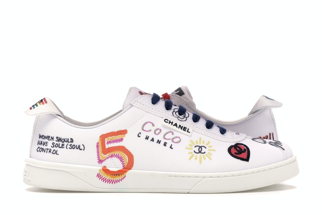huge discount 3e5ef f0a20 Chanel Sneakers Pharrell White Multi-Color
