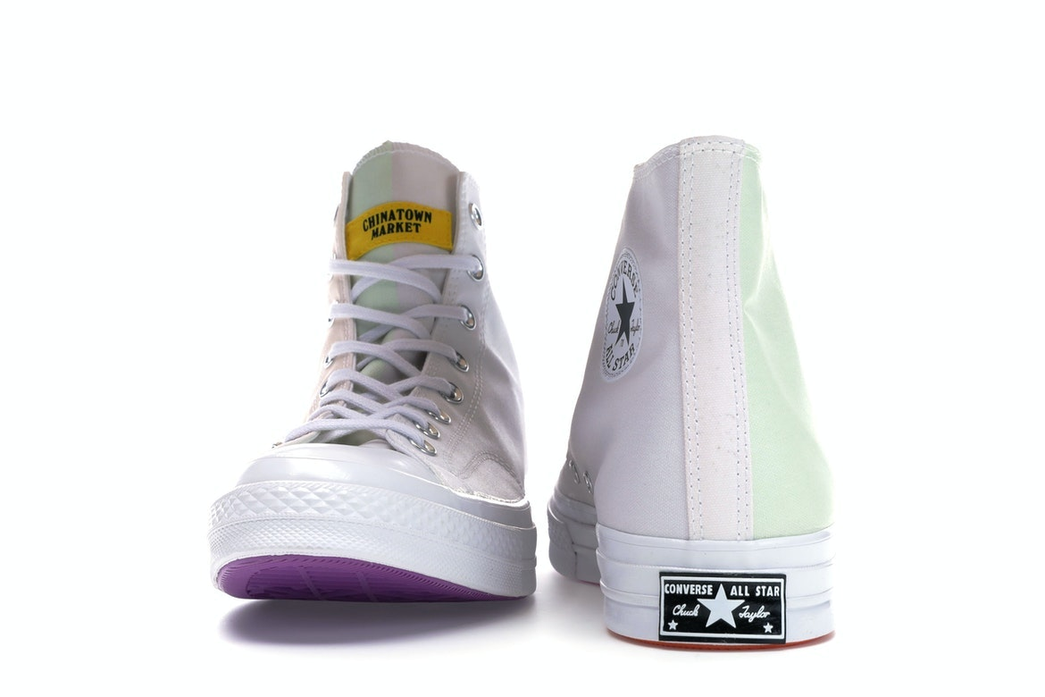 Chinatown Market UV X Converse Chuck 70 High Tops Mens Size