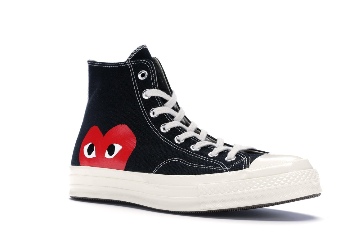 Star Garcons Black Converse All 70s Play Hi Chuck Taylor Comme Des EI2YWDH9