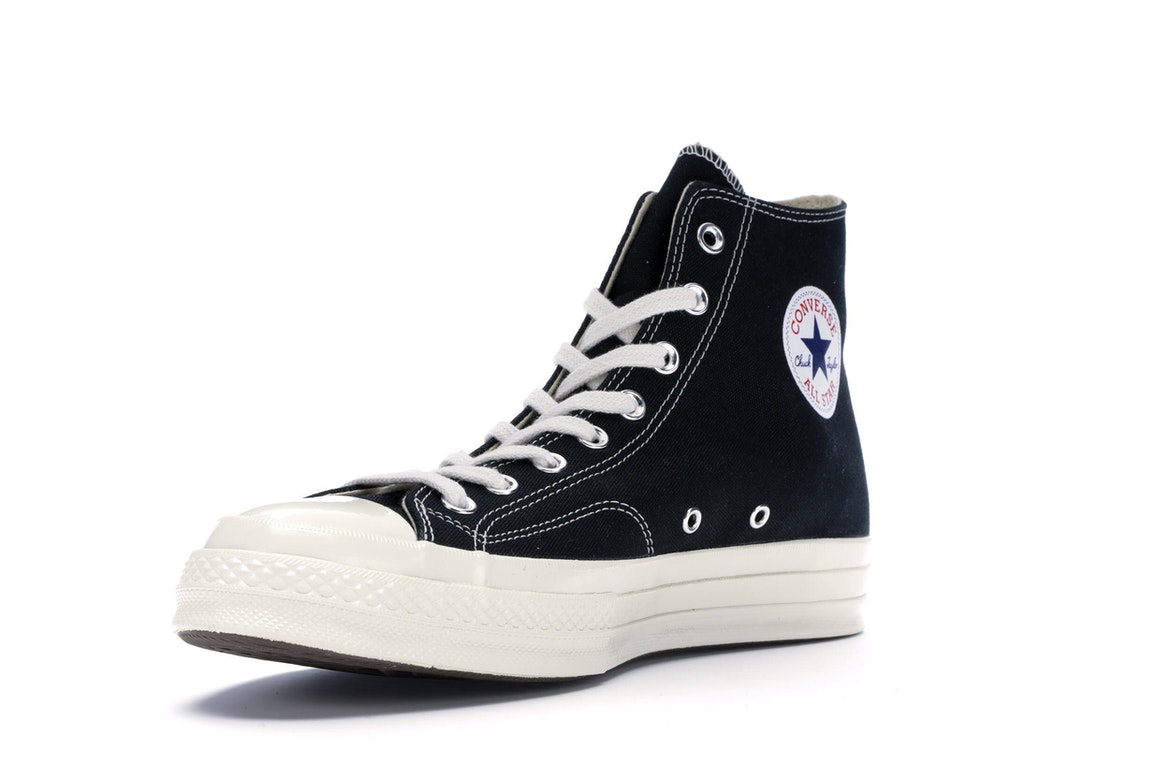 Converse Chuck Taylor All Star 70s Hi Comme des Garcons PLAY Black