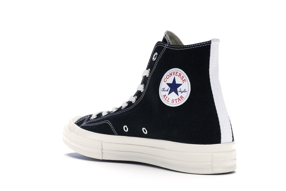 3a5e4ad43455 Converse Chuck Taylor All-Star 70s Hi Comme des Garcons PLAY Black - 150204C