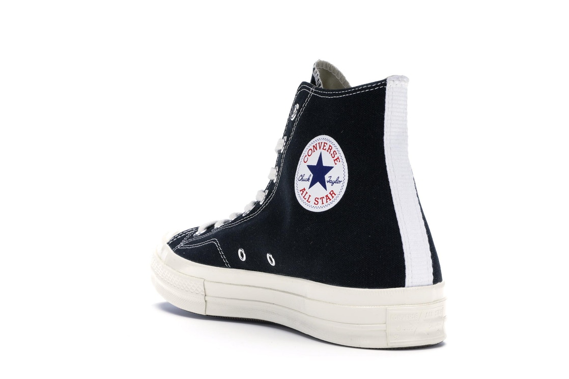 timeless design be976 d04f6 Converse Chuck Taylor All-Star 70s Hi Comme des Garcons PLAY Black - 150204C