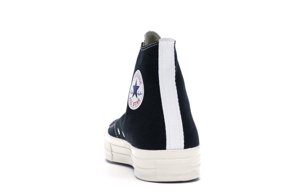 f346233e1fd9 Converse Chuck Taylor All-Star 70s Hi Comme des Garcons PLAY Black - 150204C