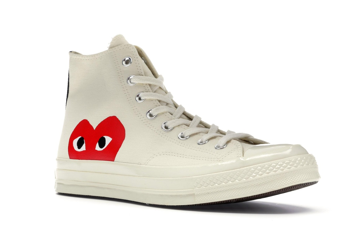 huge selection of ccbbc 85695 Converse Chuck Taylor All-Star 70s Hi Comme des Garcons PLAY White - 150205C