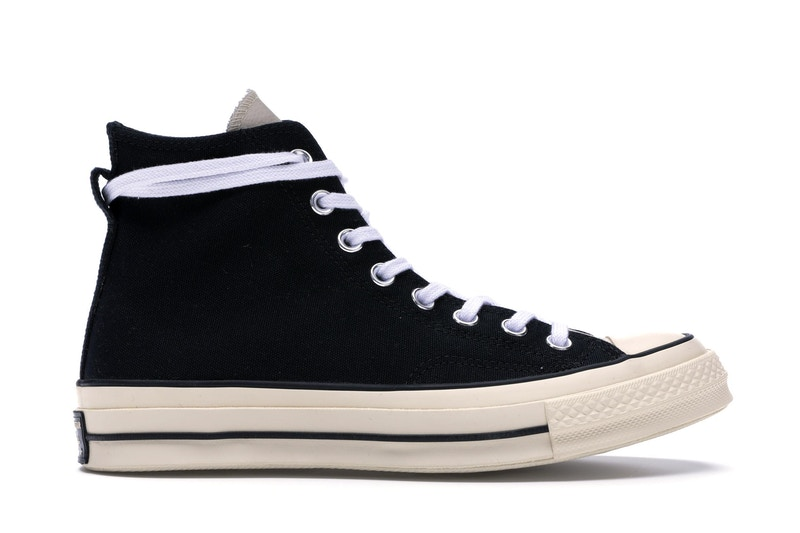 Converse Chuck Taylor All-Star 70s Hi Fear of God Black สตรีท สนีกเกอร์ street sneaker