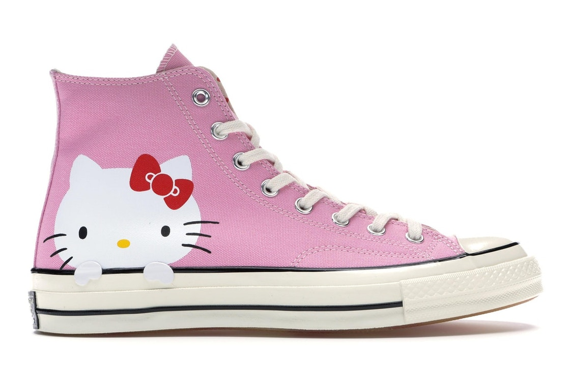 61513c5682b Sell. or Ask. Size 5. View All Bids. Converse Chuck Taylor All-Star 70s Hi Hello  Kitty Pink
