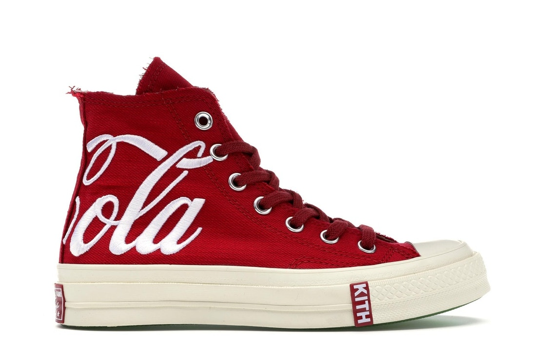 bc381d01 Converse Chuck Taylor All-Star 70s Hi Kith x Coca Cola Red - 162989C