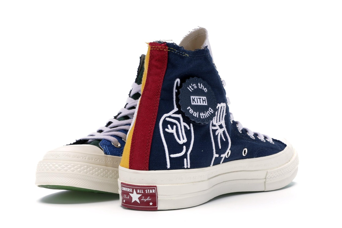 7109cd81bd15 Converse Chuck Taylor All Star 70s Hi Kith x Coca Cola Golden Rod Dress  Blues (Friends and Family) - 162984C