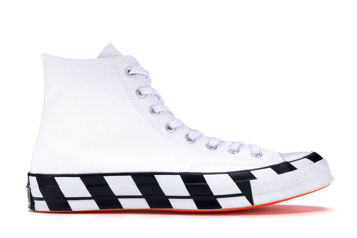 Converse Chuck Taylor All-Star 70s Hi Off-White สตรีท สนีกเกอร์ street sneaker