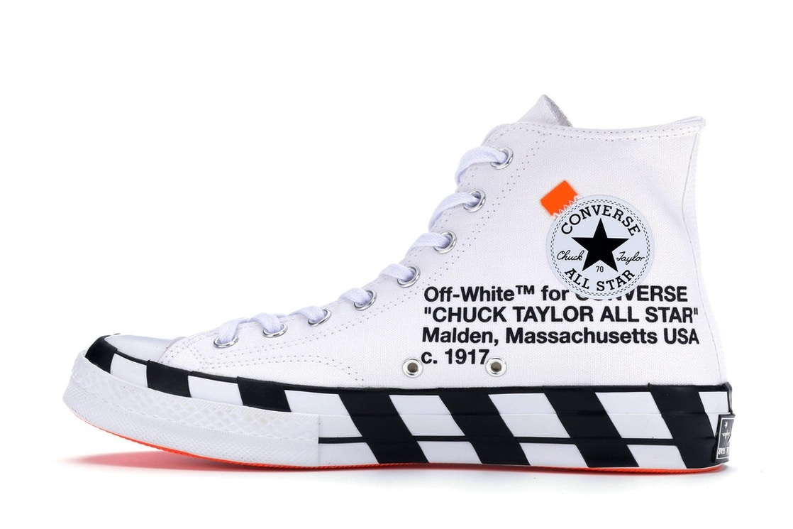 fb815ced442182 Converse Chuck Taylor All-Star 70s Hi Off-White - 163862C