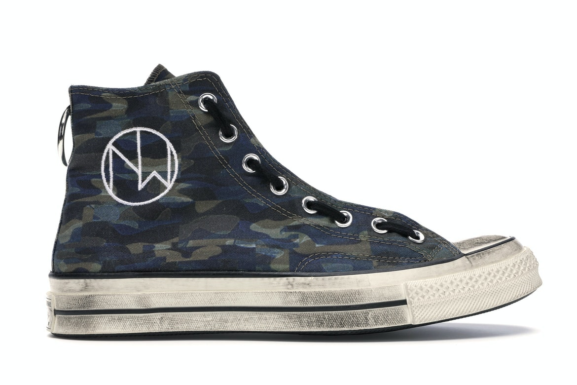 Converse Chuck Taylor All-Star 70s Hi Undercover The New Warriors Camo